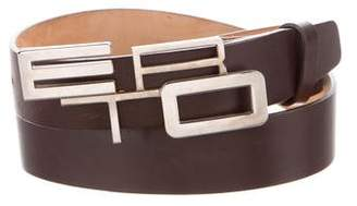 Etro Leather Buckle Blet