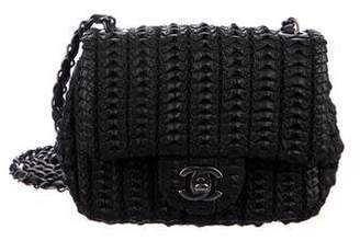 c6fbb8a1681b Chanel 2016 Small Crochet Lambskin Flap Bag