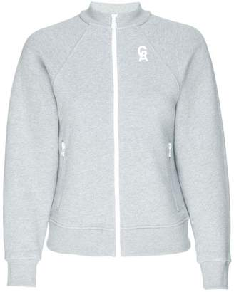 Good American The Crop Icon Zip-Up Sweater