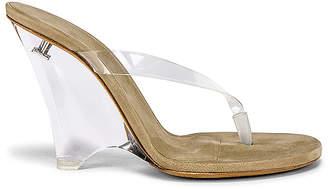 Yeezy SEASON 8 PVC Wedge Thong Sandal