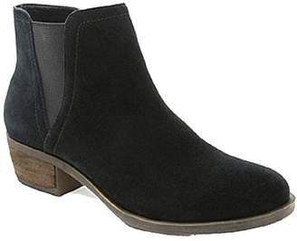 Kensie Garry Suede Zippered Ankle Boot With Short Heel 8
