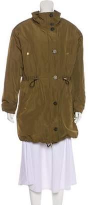 MICHAEL Michael Kors Fur-Lined Zip-Up Coat
