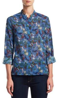 Alice + Olivia Eloise Button-Down Shirt