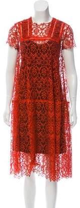 Preen by Thornton Bregazzi Lace Midi Dress