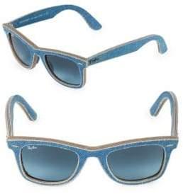 Ray-Ban 50MM Classic Wayfarer Denim Sunglasses