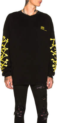 Amiri Bones Long Sleeve Tee