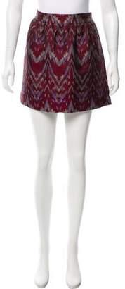 Gryphon Jacquard Mini Skirt