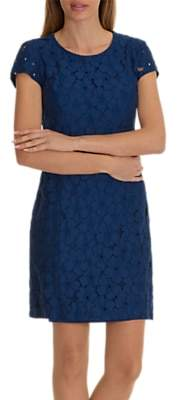 Betty Barclay Lace Shift Dress, Morning Sky