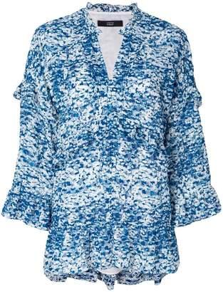 Steffen Schraut frill detail blouse