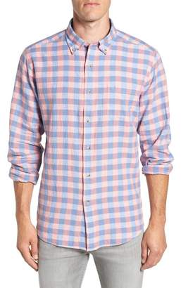 Buffalo David Bitton Southern Tide River Street Regular Fit Check Sport Shirt
