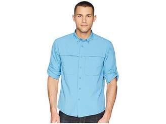 White Sierra Kalgoorlie Cool Touch Long Sleeve Shirt Men's Long Sleeve Pullover