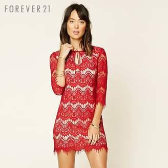 Forever 21 (フォーエバー 21) - Forever 21 アイラッシュレースワンピース