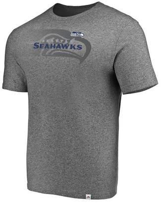 Majestic Men Seattle Seahawks Static Fade T-Shirt