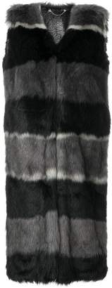 Diesel long reversible gilet