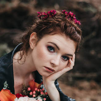 Luna and Wild Abigail Wax Flower Hair Pin