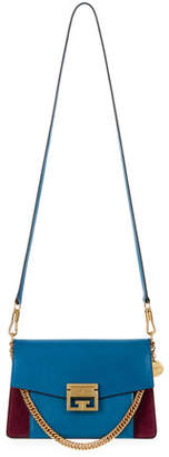 Givenchy GV3 Small Pebbled Leather Crossbody Bag