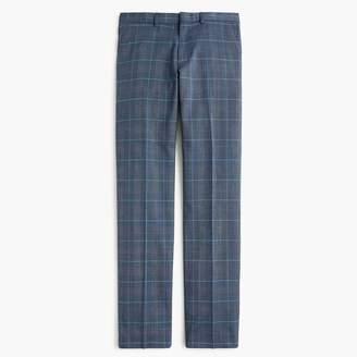 J.Crew Ludlow Slim-fit stretch dress pant in blue four-season wool