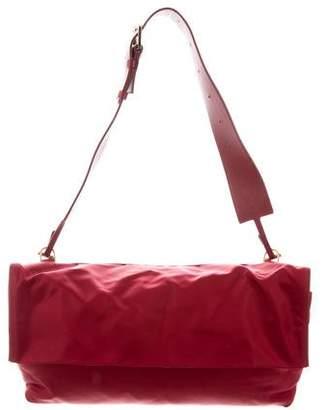 The Row Nylon Flap Bag