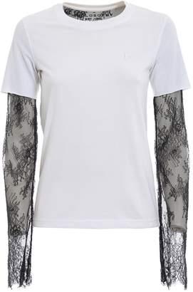 Philosophy di Lorenzo Serafini Philosophy Lace-paneled T-shirt