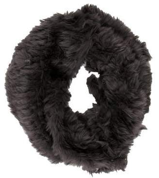 Vince Fur Infinity Scarf