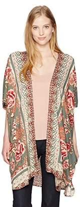 Angie Women's Paisley Kimono