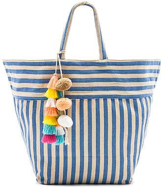 JADEtribe Valerie Beach Bag Tassel Pom