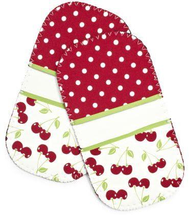 Sur La Table Cherries Mini-Grip Potholders, Set of 2