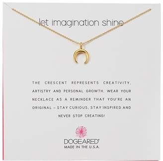 Dogeared Let Imagination Shine, Crecent Necklace Necklace