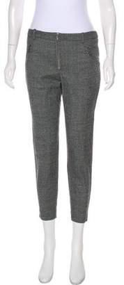 Alexander McQueen Wool-Blend Mid-Rise Pants w/ Tags