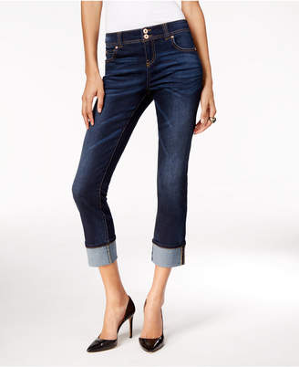 INC International Concepts I.n.c. Curvy-Fit Cropped Jeans