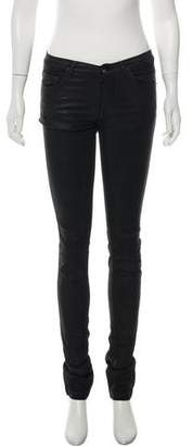 Rick Owens Mid-Rise Skinny Jeans