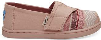Rose Cloud Global Embroidery Canvas Tiny TOMS Classics