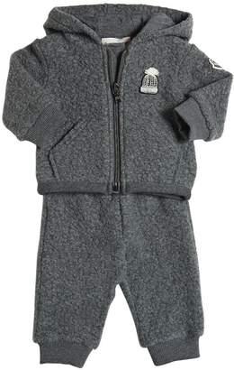 Moncler Faux Shearling Sweatshirt & Pants