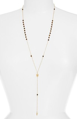 Women's Ettika Pyramid Pendant Rosary Necklace $44 thestylecure.com