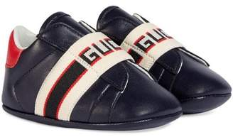 Gucci Kids Baby Ace sneaker with stripe