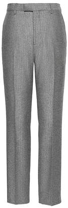 Banana Republic Slim Herringbone Italian Flannel Suit Pant