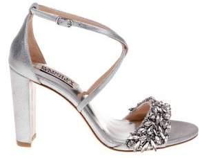 Badgley Mischka Harper Satin Ankle-Strap Sandals