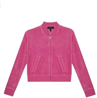 Juicy Couture Velour Candy Crown Westwood Jacket for Girls