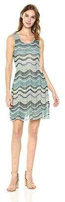 M Missoni Women's Lurex Wave Ripple Knit Dress