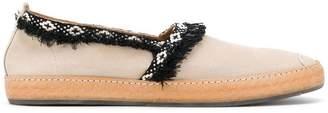 Marbella Henderson Baracco velour slippers