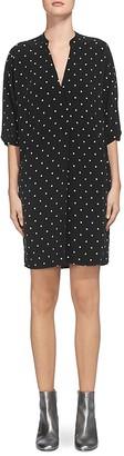 Whistles Luna Dot-Print Dress $210 thestylecure.com