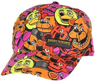 Freddy Five Nights at Freddy's Youth All-Over Print Snapback Hat