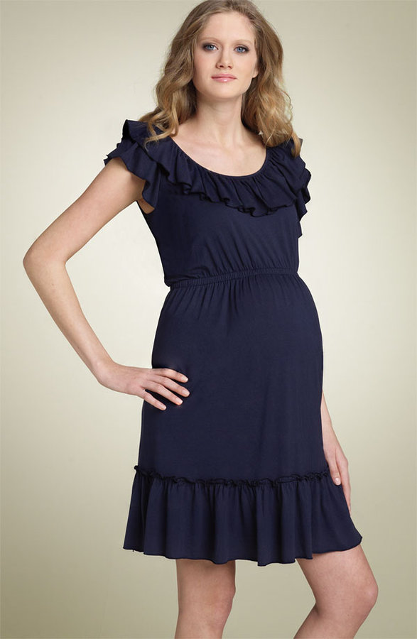 Juicy Couture Maternity Jersey Tiered Dress