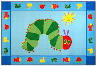 Wildkin The Very Hungry Caterpillar Blue/Green Area Rug