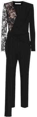 Givenchy Lace and cotton-blend jumpsuit