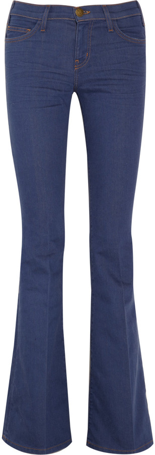 Current/Elliott The Bell mid-rise flared jeans
