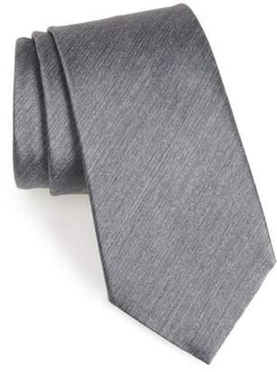 Ermenegildo Zegna Solid Silk Tie