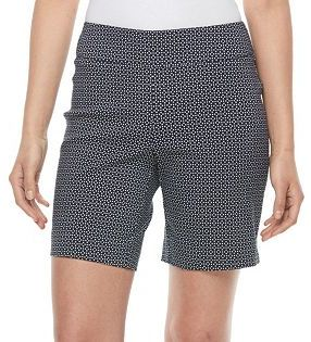 Women's Dana Buchman 8-in. Pull-On Dress Shorts $40 thestylecure.com