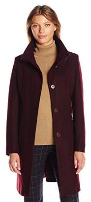 Kenneth Cole Women's Walker Wool Coat $106.41 thestylecure.com