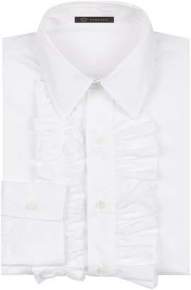 Versace Ruffle Shirt